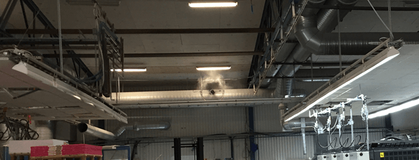 Luftbefugtning Eballageindustri