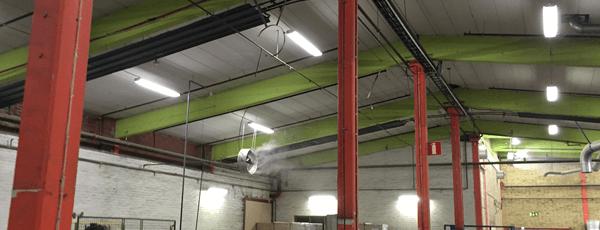 Træindustri Luftbefugtning